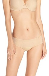 Chantelle Women's Intimates 'Velvet Touch' Hipster Briefs Suede