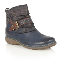 Lotus Freida Ankle Boots Blue
