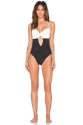 Solid And Striped The Julia One Piece Black And White