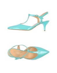 Signature Sandals Light Green