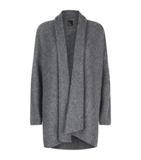 Eileen Fisher Waterfall Cashmere Cardigan Female Light Grey