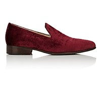 Brock Collection Women's Pointed Toe Loafers Red