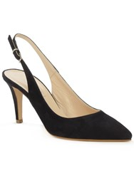 Daniel Summersville Slingback Court Shoes Navy