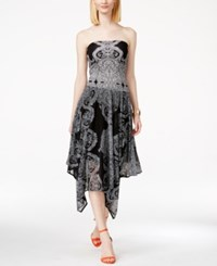 Inc International Concepts Petite Strapless Convertible Printed Maxi Dress Only At Macy's