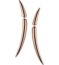 Shaun Leane Rose Gold Vermeil Quill Earrings Size 1
