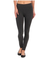 Hue Ultra Leggings W Wide Waistband Graphite Heather Women's Clothing Gray