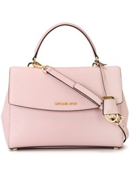 Michael Michael Kors Medium 'Ava' Satchel Pink And Purple