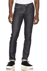 Naked And Famous Denim Denim Super Skinny Guy 12.5 Oz Stretch Selvedge In Blue