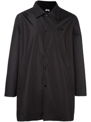 Stussy Long Coach Jacket Black