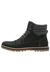 New Look Laceup Boots Black