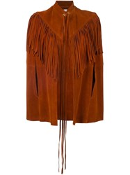 Manokhi 'Capizilah' Jacket Brown