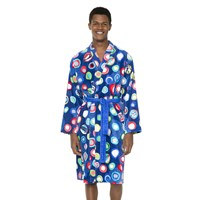 Desigual Blue Summer Manolos Bathrobe