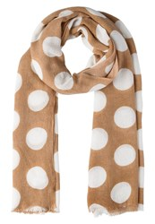 Opus Apple Scarf Soft Camel Beige