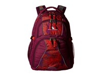 High Sierra Swerve Backpack Berry Blast Moroccan Tile Redline Backpack Bags