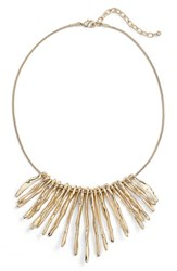 Women's Nordstrom Spike Frontal Necklace