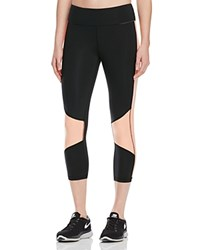Alala Color Block Capri Leggings Melon