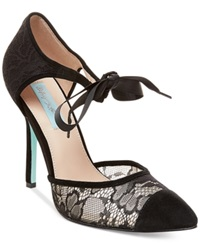 Blue By Betsey Johnson Reese Dress Pumps Women's Shoes Black