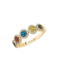 Le Vian Exotics Multi Colored Diamond Ring