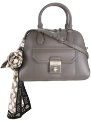 Love Moschino Scarf Detail Tote Grey