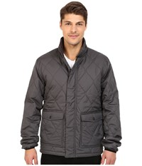O'neill North Quilted Puff Jacket Asphalt Men's Coat Black