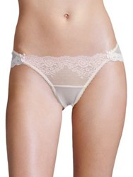 Mimi Holliday Sugared Almond Mesh Back Brief Pink