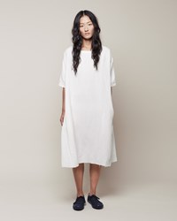 La Garconne Moderne Sleep Dress White