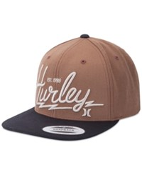 Hurley Men's Bolts Hat Brown