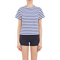 Nlst Women's Stripe True T Shirt Blue White Blue White