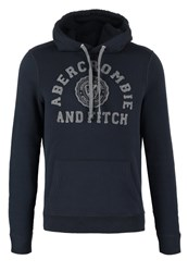Abercrombie And Fitch Core Hoodie Navy Dark Blue