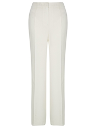 Kaliko Crepe Wide Leg Trousers Natural