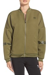 Adidas Women's Originals 3 Stripes Bomber Jacket