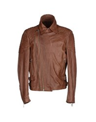 Minimal Coats And Jackets Jackets Men Brown