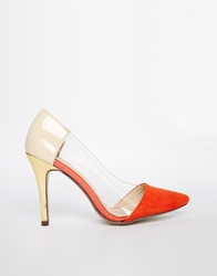 Paper Dolls Cut Out Court Shoes Red