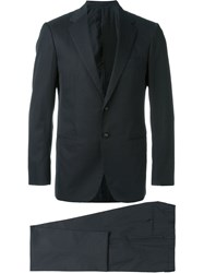 Mp Massimo Piombo Classic Suit Blue
