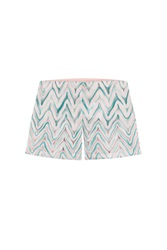 Missoni Mare Zigzag Print Shorts Multicolor