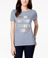 Tommy Hilfiger Graphic Tee Nautical Flags
