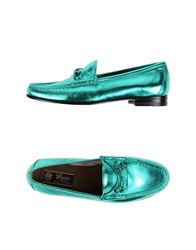 Gucci Moccasins Turquoise