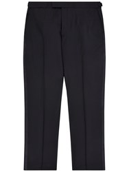 Jaeger Wool Mohair Classic Trousers Black