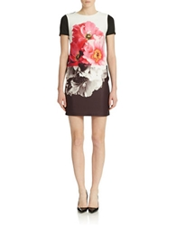 Vince Camuto Floral Graphic Sheath