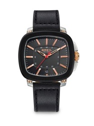 Breil Milano Three Hand Stainless Steel Watch Black