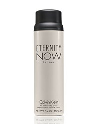 Calvin Klein Eternity Now For Men Deodorant Body Spray 5.4 Oz. No Color