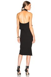 Mcq By Alexander Mcqueen Mcq Alexander Mcqueen Drape Neck Dress In Black