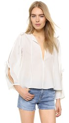 Shakuhachi All Tied Up Flare Top White