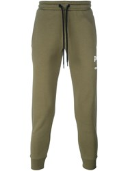 Palm Angels 'Season' Sweatpants Green