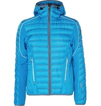 Bogner Clark D Quilted Shell Down Jacket Blue