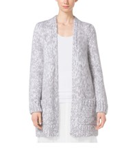 Michael Kors Cotton And Mohair Tweed Cardigan