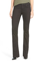 Kut From The Kloth 'Natalie' Stretch Bootcut Jeans Black