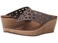 Skechers Cali Beverlee Dazzled Taupe Women's Sandals