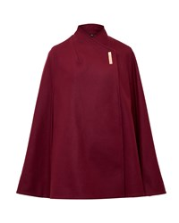Ted Baker Aillaa Wrap Over Cape Red