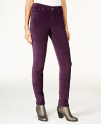 Styleandco. Style Co. Colored Skinny Jeans Only At Macy's Dark Grape